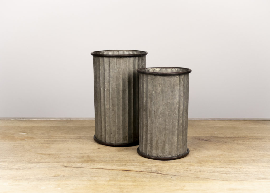Pair of Farmhouse Cylinders (Travel Together)