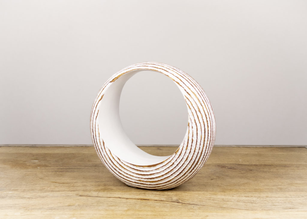 White Circle Accent Piece (Qty 1)