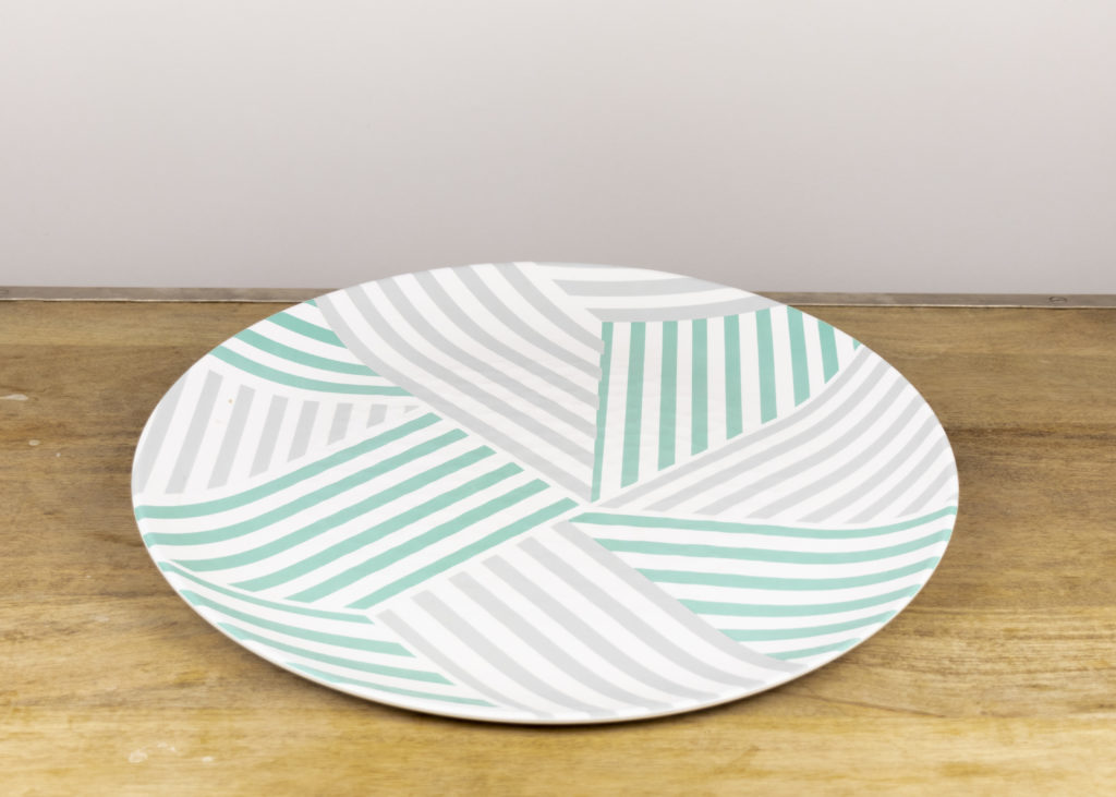 Stripes Melamine Platter (Qty 2)