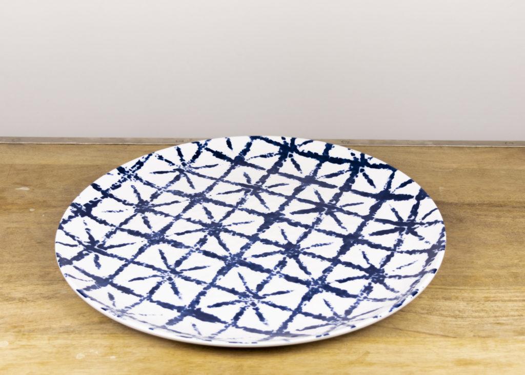 Tie Die Melamine Platter (Qty 1)